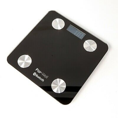 Pur-Well Living Body Fat Bluetooth Bathroom Scale Weight Loss Digital Scale