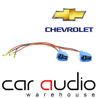 CT55 CV01 Chevrolet All Models Upto 14 Car Speaker Adaptor Plug Lead Connectors