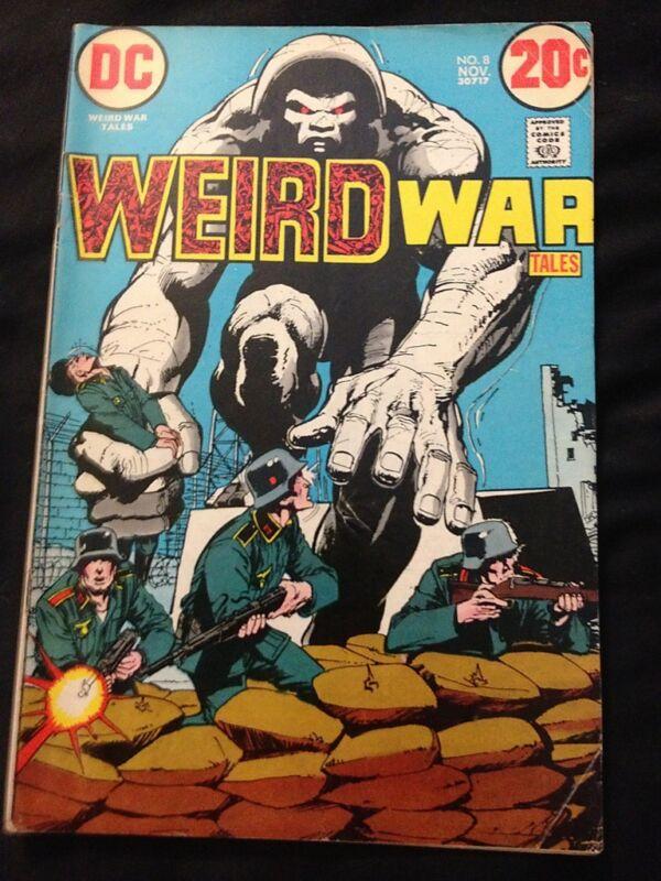 WEIRD WAR #8 VG Condition