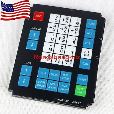 1pc New A98l-0001-0518t Membrane Keysheet Keypad For Fanuc