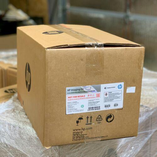 HP Indigo Imaging Oil 4.0 Q4302A Full Case Of 4 Bottles FAST FREE SHIPPING!