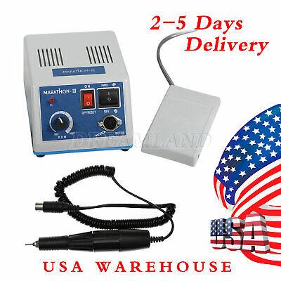 Marathon Dental Lab Electric Micro Motor Polisher N3 35k Rpm Handpiece Straight