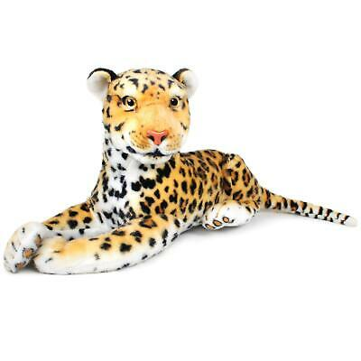 Leah the Leopard | 17 Inch Stuffed Animal Plush Jaguar | By Tiger Tale Toys