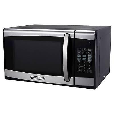 BLACK+DECKER™ ® 0.9cu. ft. 900 Watt Microwave Oven Stainless Steel ...