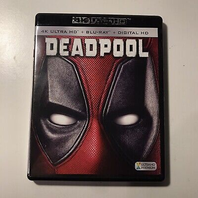 Deadpool (4K/Blu-Ray), No Digital Code
