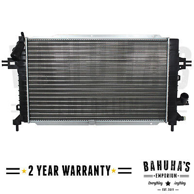 MANUAL RADIATOR FOR VAUXHALL ASTRA H ZAFIRA B 13 17 19 20 2YR WRANTY