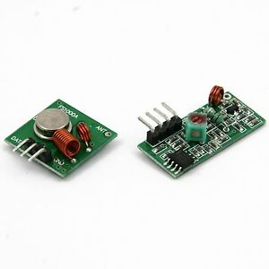 433Mhz RF Funk Sender Empfänger Wireless Transmitter + Receiver Module Arduino