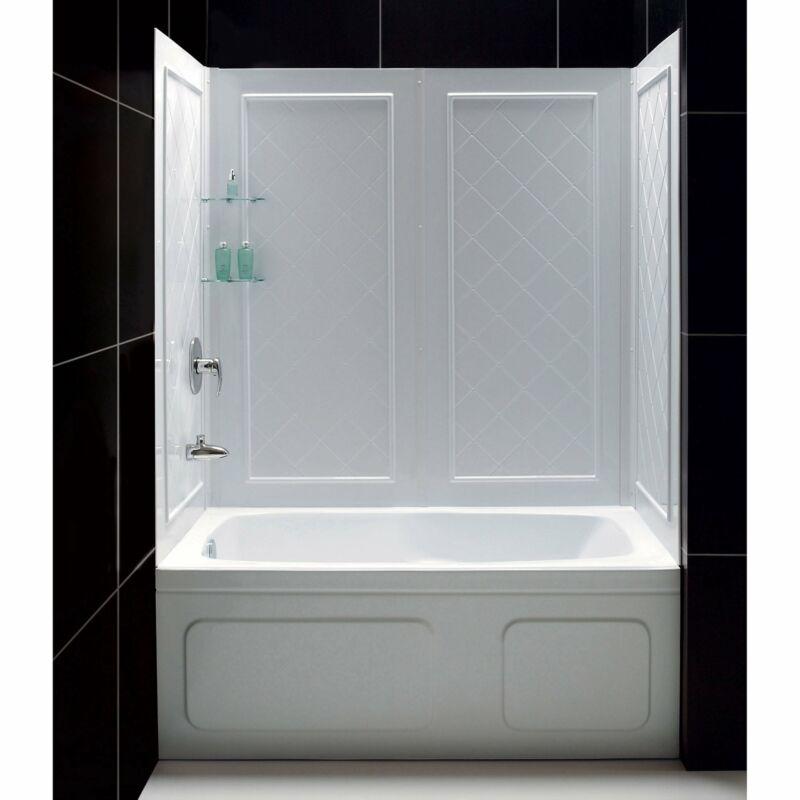 DreamLine SHBW-1360603-01 QWALL-Tub Backwall Kit