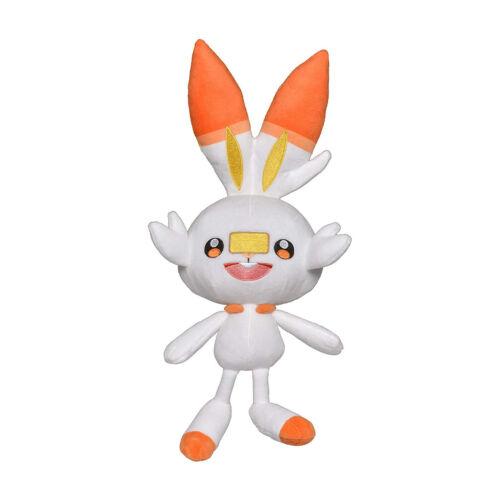 Wicked Cool Toys Pokemon Galar Region Scorbunny 8 Inch Plush Figure NEW IN STOCK
