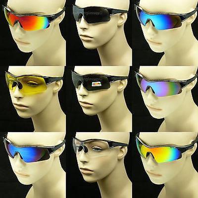 Safety glasses men women ANSI Z87+ sunglasses shoot frame cycle (Frame Safety Glasses Sunglasses)