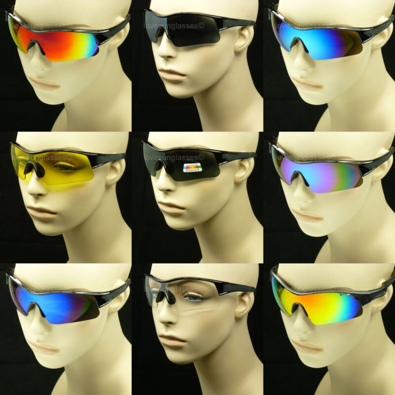 Safety glasses ANSI Z87+ sunglasses shoot frame cycle new men women