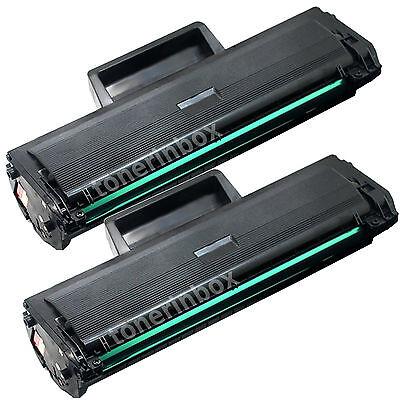 2pk MLT-D101S MLTD101S Toner Cartridge For Samsung 101 ML-2160 ML-2165 ML-2165W
