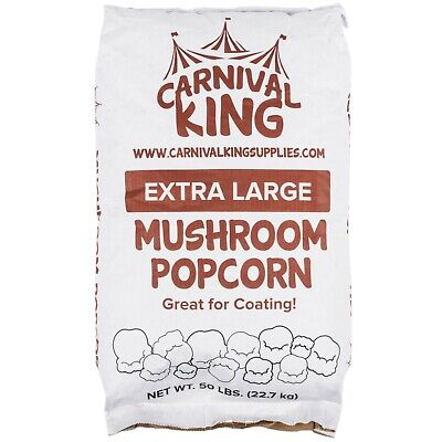 50 Lb. Extra Large Mushroom Yellow Popcorn Kernels