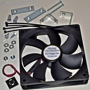 Dometic Norcold Rv Camper Refrigerator Cooling Fan