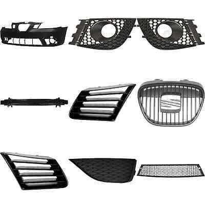 Kit Parachoques Delantero Imprimado+Tirantes+Accesorio para Seat Ibiza Cordoba