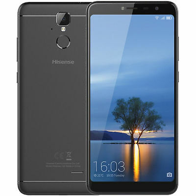 Android Phone - Hisense Infinity F24 16GB Unlocked GSM 4G LTE Android 13MP Phone - Black