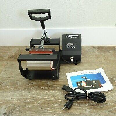 Planet Flame Factory Ce 6-11oz Professional Mug Heat Press Machine Black