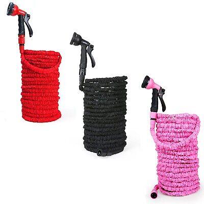 Schlauch (Gartenschlauch flexibel Wasserschlauch dehnbarer Flexischlauch 30m Schlauch)