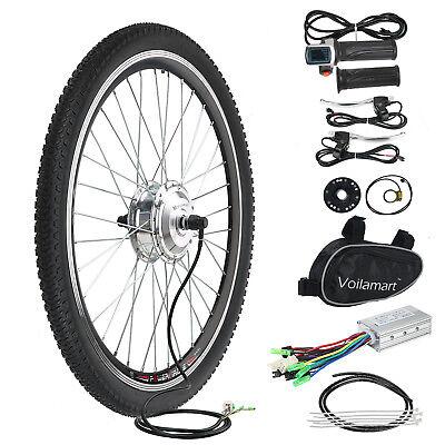 """26"""" Bicicleta Eléctrica Kit De Conversión E 36v 250w MOTOR Rueda Delantera"""