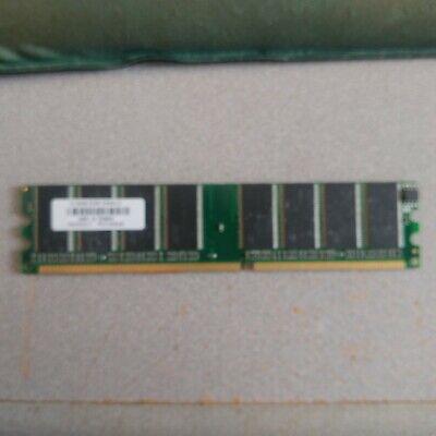 PNY 512mb ddr dimm q64WQD-T PO1350548 vintage memory for vintage hardware ()