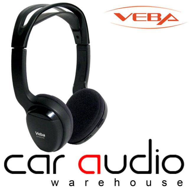 Veba AVHEAD2IR Dual Channel Infra Red I R Wireless Headphones (sold in singles)