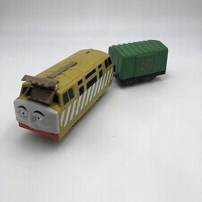 Thomas & Friends Trackmaster Diesel 10 Engine Train w/ Cargo Car 2013 Set