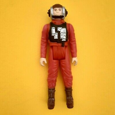 Vintage Star Wars B-Wing Pilot LFL 1984 No COO Near Mint Figure