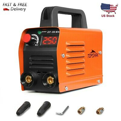 Mini Welding Machine Dc Electric Inverter Arc Mma Stick Welder 110v 250a 60h