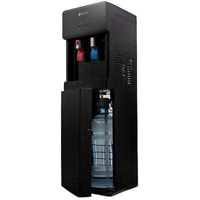 Water Cooler Hot Cold Dispenser Self Cleaning Bottom Loading