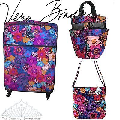 Vera Bradley Bags Floral Fiesta Design  US FAST SHIP