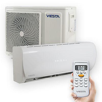 Viesta Split Klimaanlage AC12 Klima Splitgerät 12000BTU Klimagerät 4kW Inverter