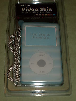 Blue Silicon PROTECTIVE case for original Ipod Video only , new Silicon Case Ipod Video