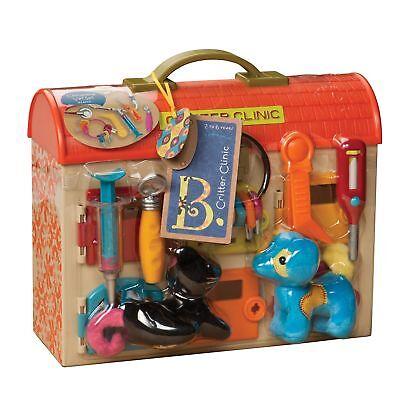 B. Critter Clinic Toy Vet Play (B Critter Clinic Toy Vet Play Set)