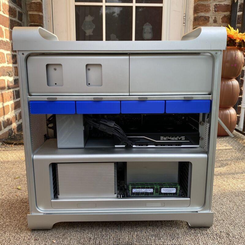 Apple Mac Pro Hard Drive Caddy Sled 2009-2011 (Blue) Set Of 4