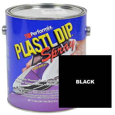 Plasti Dip Spray 1 Gallon Can Ready To Spray Matte - Black