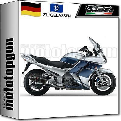 Gebraucht, GPR 2 AUSPUFF ABE FURORE SCHWARZ YAMAHA FJR 1300 2005 05 gebraucht kaufen  Deutschland