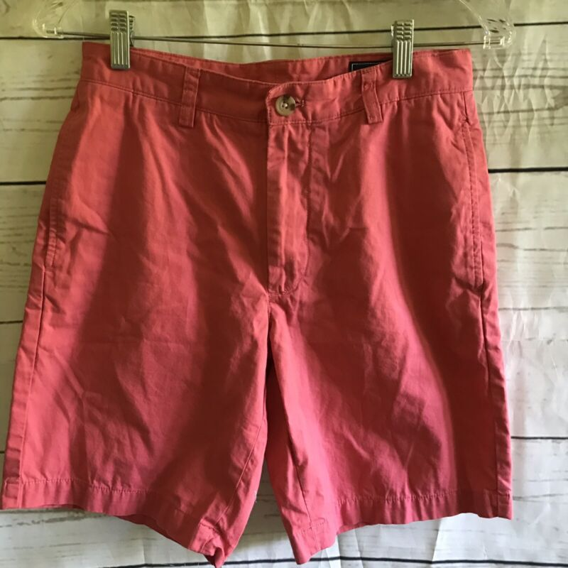"Vineyard Vines Womens Club Short  9"" Inseam  Size 28  Salmon Pink"