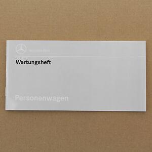 Mercedes W124 R129 W202 Wartungsheft Serviceheft  E+C Klasse + SL unbenutzt