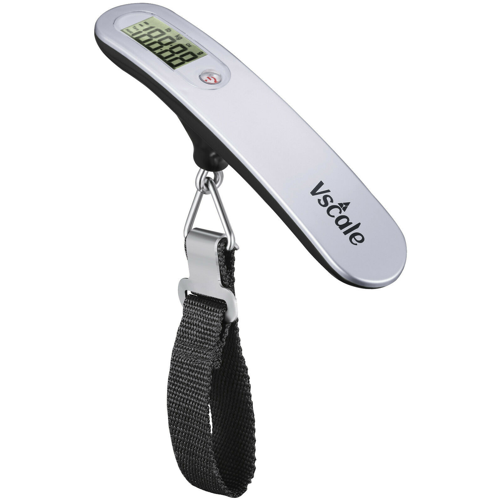 Portable Travel 110lb / 50kg LCD Digital Hanging Luggage Scale Electronic Weight Luggage Accessories