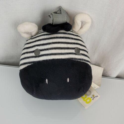 Go By Goldbug Stuffed Plush Zebra Portable Baby White Noise Machine Soother