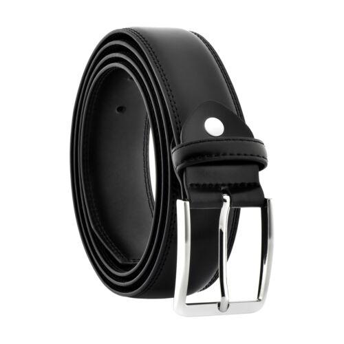 Men's 6xl Big & Tall Genuine Black Leather Belts Plus Sizes 62-64 Xxxxxxl