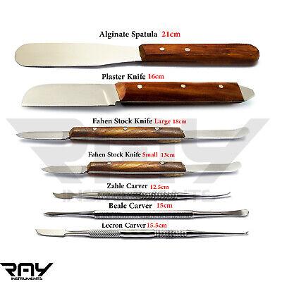 Dental Laboratory Tools Plaster Spatula Alginate Fahen Stock Knives Lab Tools