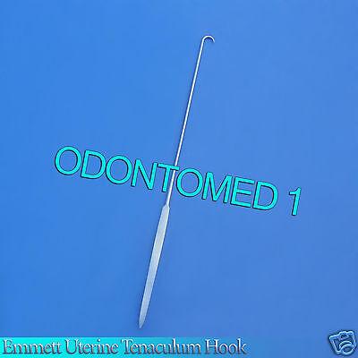 O.r Grade Emmett Uterine Tenaculum Hook 10.25 Half Cvd
