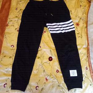 Thom Browne Striped Sweatpants Black Size 3 1:1 Replica Melbourne CBD Melbourne City Preview
