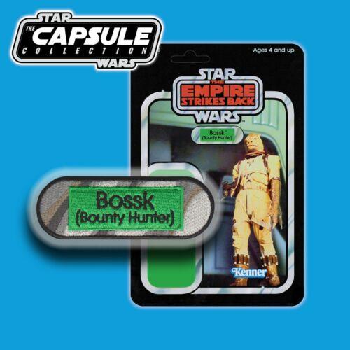FREE MANDO OFFER!! Vintage Kenner STAR WARSBossk [Bounty Hunter] Capsule patch