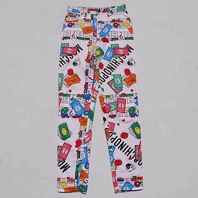 VINTAGE 90'S MOSCHINO 'MOSHINO POLY' PANTS