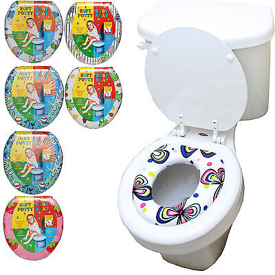 KID TODDLER CHILD GIRL BOY SOFT PADDED TOILET TRAINING POTTY TRAINER SEAT BABY