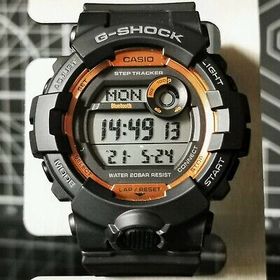 Limited Bluetooth G-Shock GBD-800SF-1 G-SQUAD Fire Package '20 Release Connected