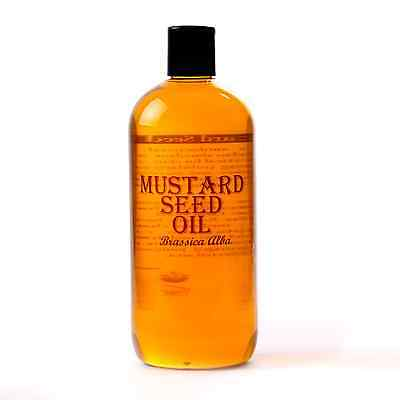 Mustard Seed Carrier Oil - 100% Pure - 500ml (OV500MUSTSEED)