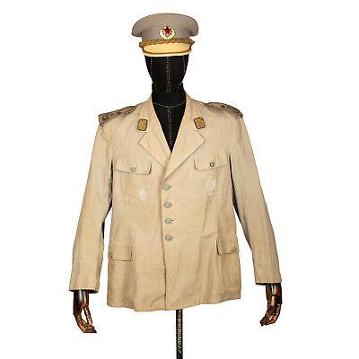 Yugoslav Peoples Army JNA Lieutenant General Summer Blouse & Visor Hat DHL RARE